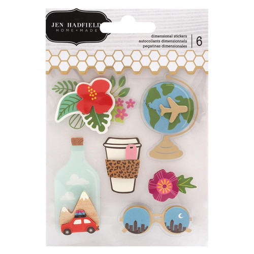 Chasing Adventures Stickers 3D - 6 pcs