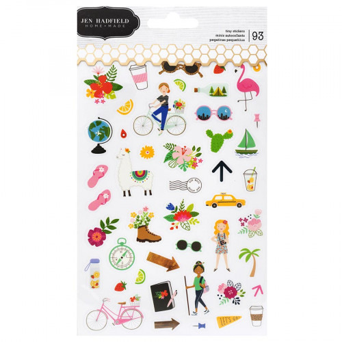 Chasing Adventures Mini Stickers - 93 pcs