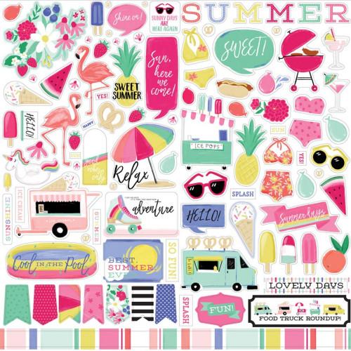 Best Summer Ever Stickers