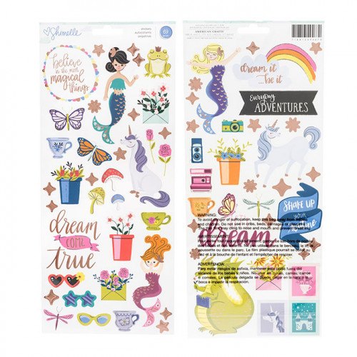 Head in the Clouds Stickers - 69 pcs