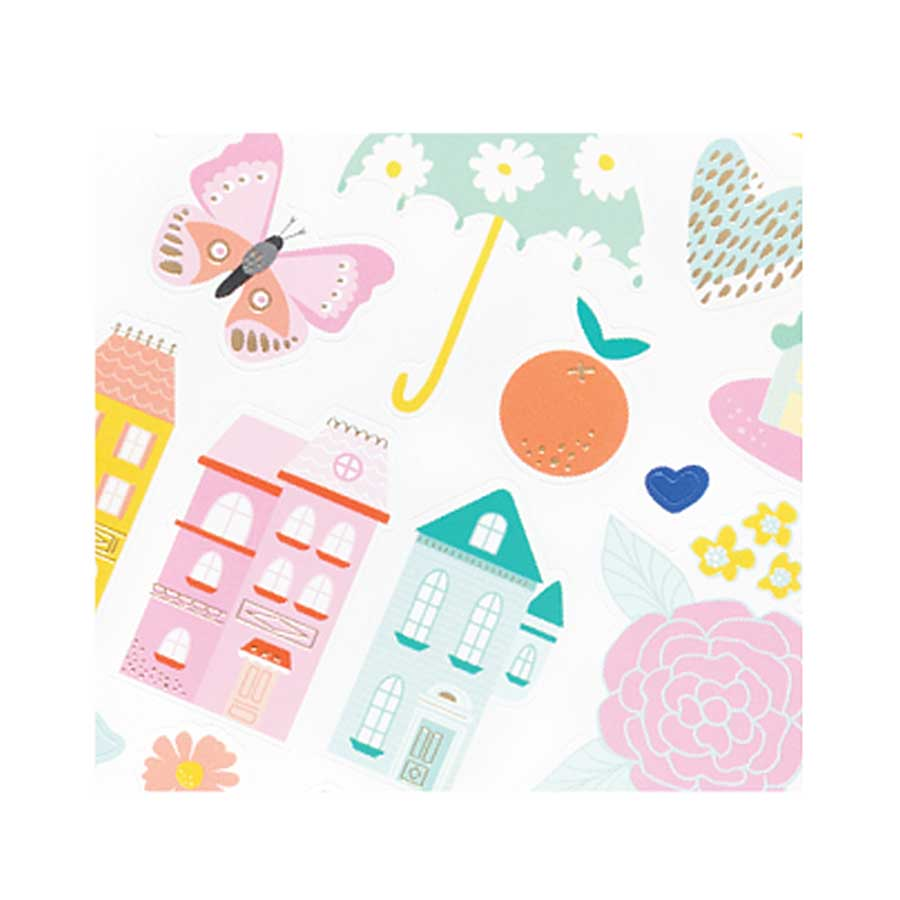 Stickers Stay Colorful - 68 pcs