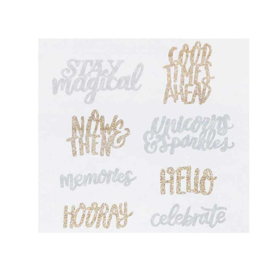 Stickers 3D Stay Colorful - 7 pcs
