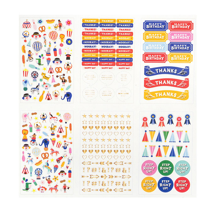 Big Top Dreams Livret de stickers