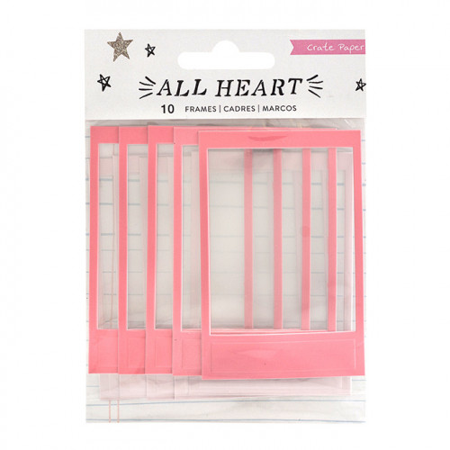 All Heart Puffy Stickers Cadres - 10 pcs