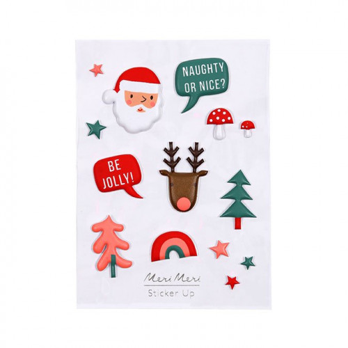 Puffy Stickers Noël - 14 pcs
