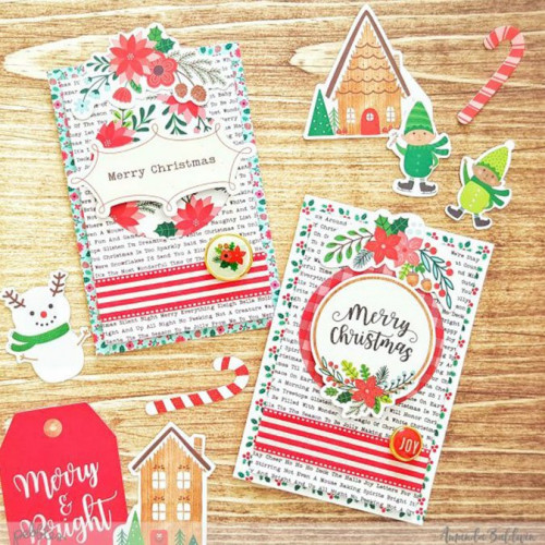 Cozy & Bright Puffy Stickers - 34 pcs