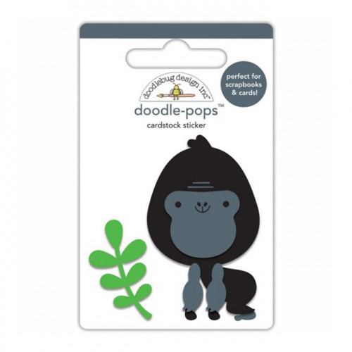 At the Zoo - Stickers 3D Doodle Pops - Gus le gorille