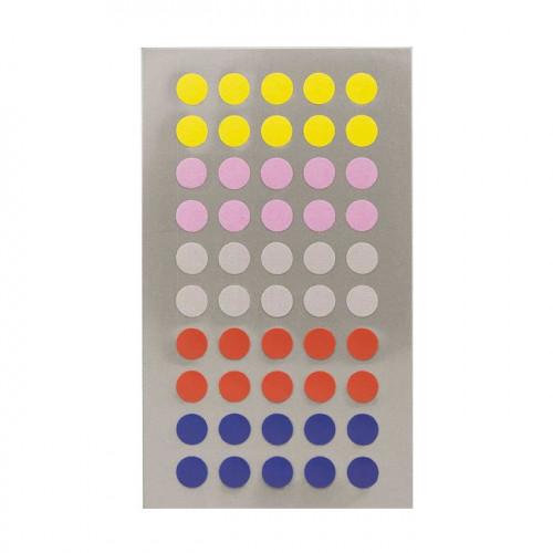 Gommettes - Ronds - Multicolore - 8 mm