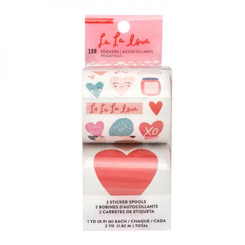 La La Love Bobines de stickers - 2 pcs