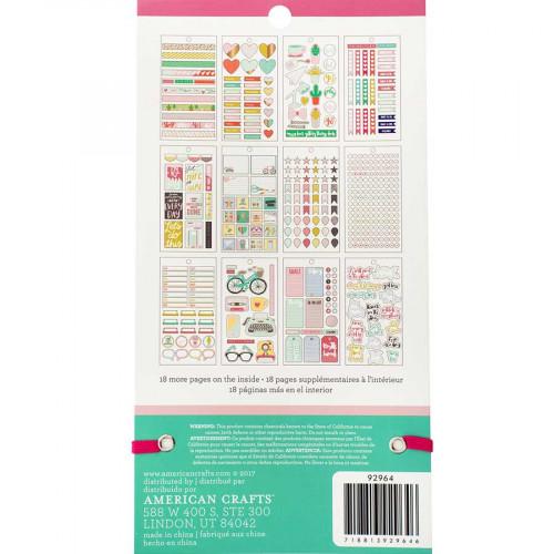 Livret d'autocollants Planner Stickers Calendrier