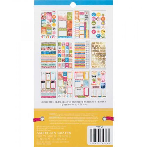 Livret d'autocollants Planner Stickers Inspirational Life