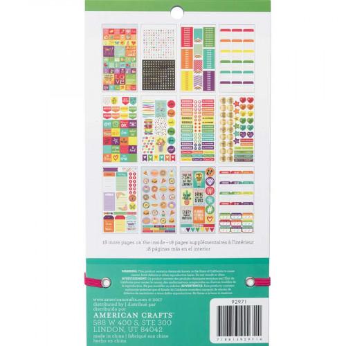 Livret d'autocollants Planner Stickers Arc-en-Ciel