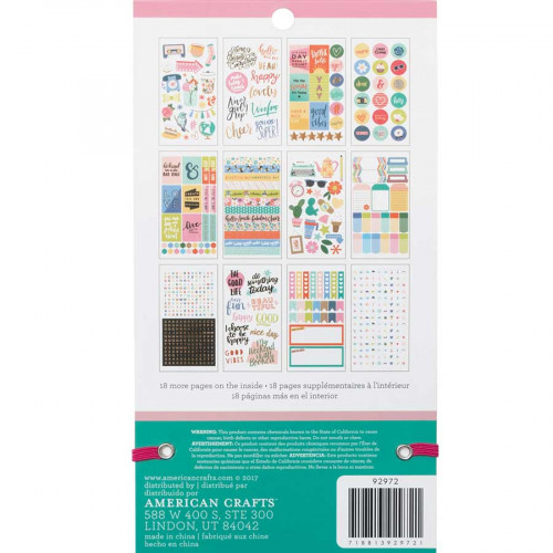 Livret d'autocollants Planner Stickers Quotidien
