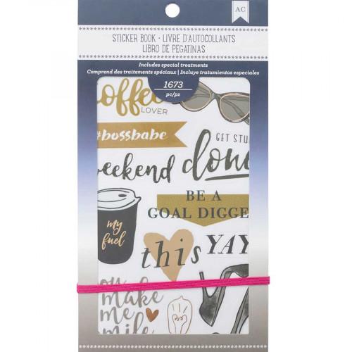 Livret d'autocollants Planner Stickers Elegant