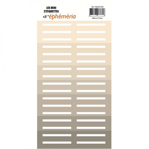 Mini Z'étiquettes Nuances de beige