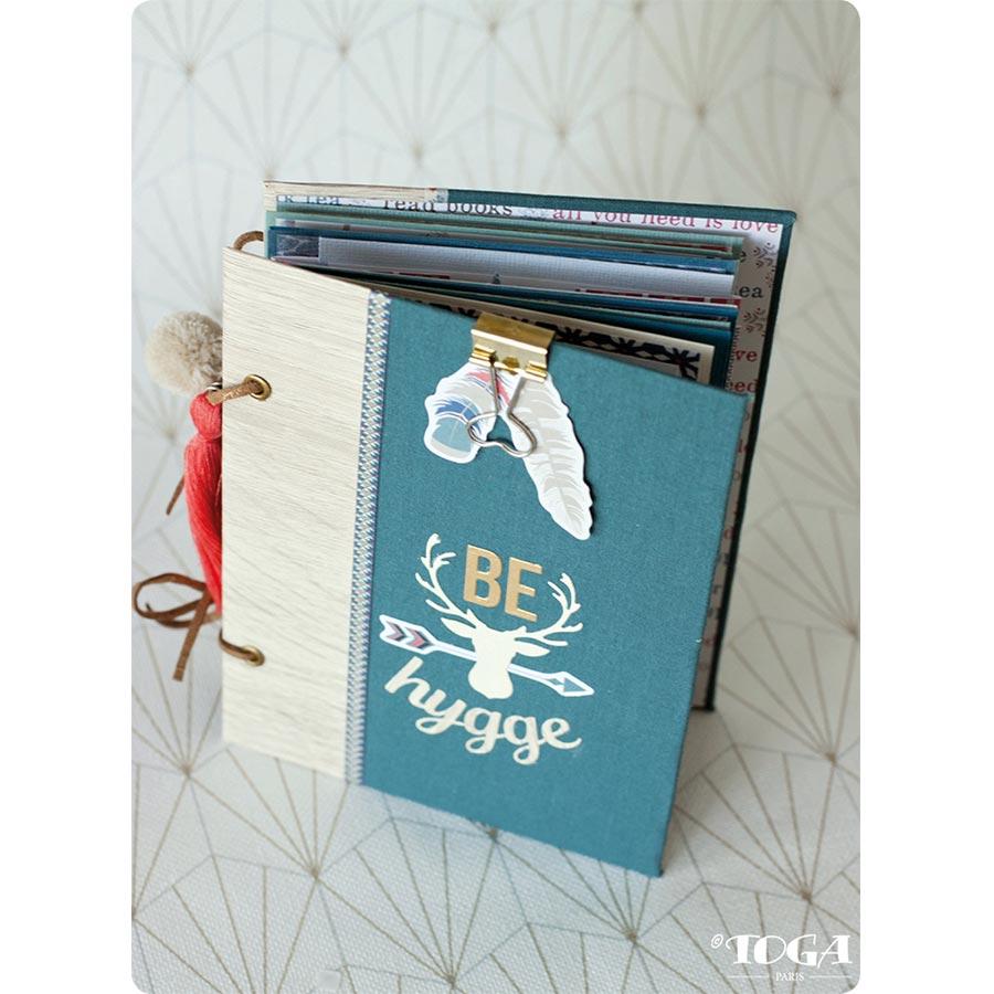 Etiquettes Hygge - 4,5 x 8 cm - 20 pcs