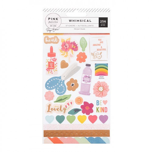 Whimsical Livret de Stickers - 256 pcs