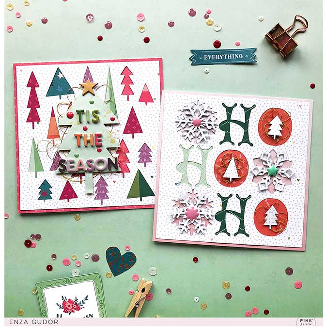Whimsical Chipboard Stickers - 89 pcs