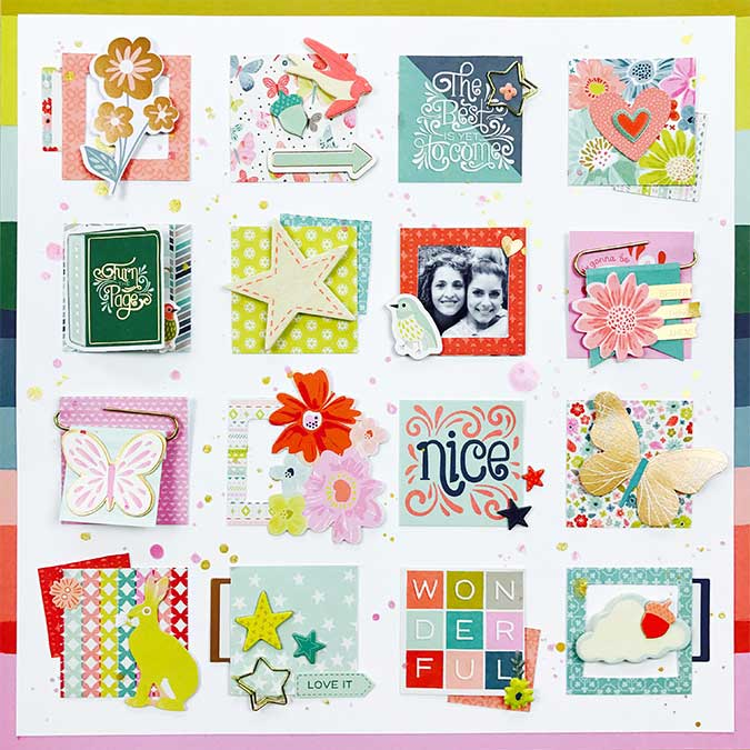 Whimsical Puffy Stickers - 42 pcs