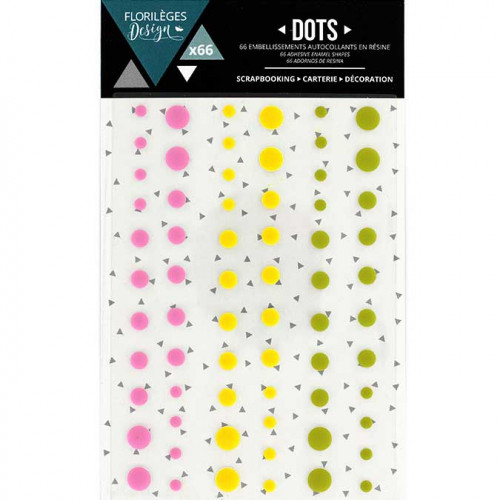 Dots - Summer - 66 pcs