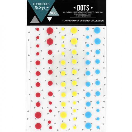 Dots - Spring - 66 pcs