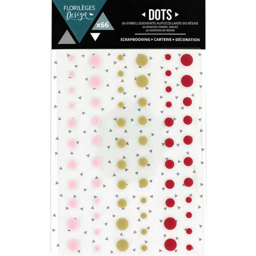 Dots - Little Girl - 66 pcs