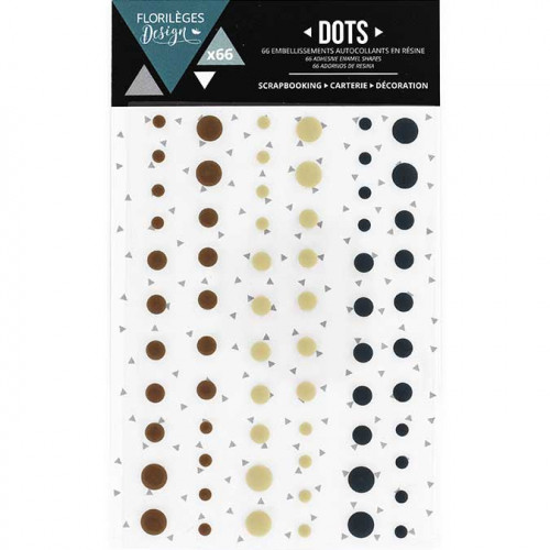 Dots - Coffee time - 66 pcs
