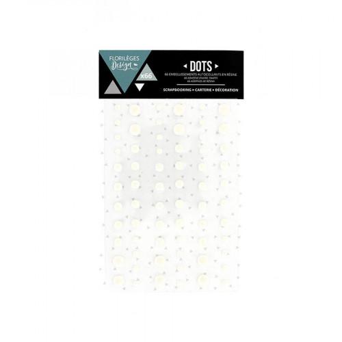 Dots - Edelweiss - 66 pcs