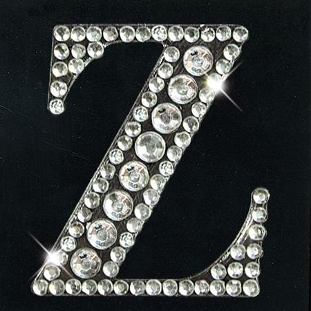 Strass Monogramm - Z