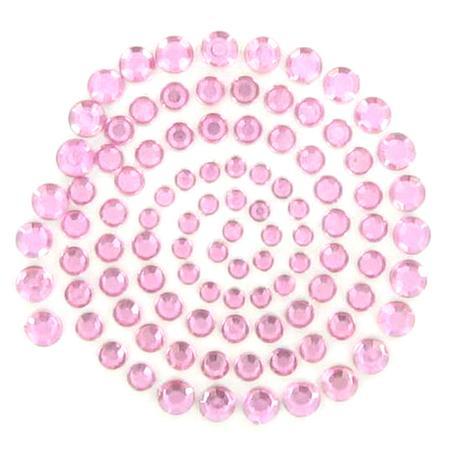 Strass adhésifs Rhinestones - Soft pink
