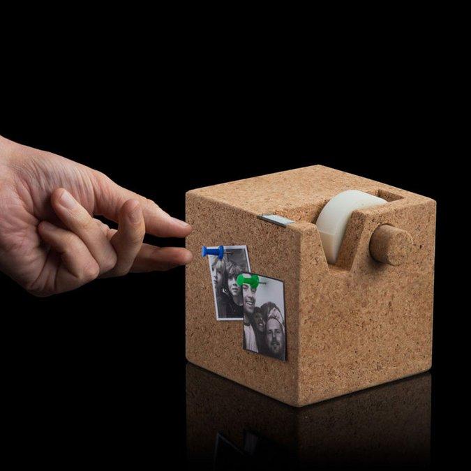 Dérouleur en liège pour Masking Tape - 11,5 cm
