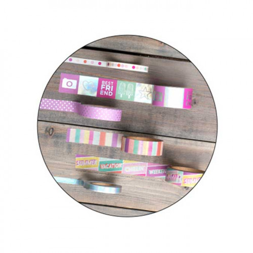 Summer Lights - Mini Washi Tape Set