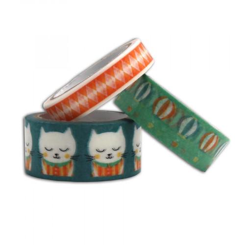 Masking Tape Léonard - 3 rouleaux