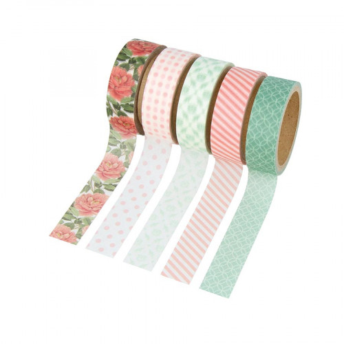 Masking Tape Secret Garden - 5 rouleaux