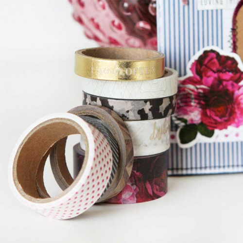 Washi Tape Hawthorne - 8 rouleaux