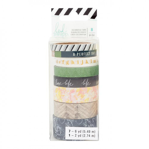 Emerson Lane Washi Tape - 8 rouleaux
