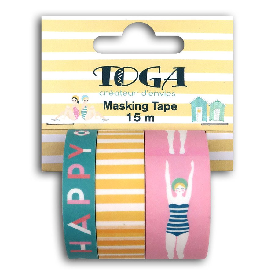 Masking Tape Baigneuses - 3 rouleaux