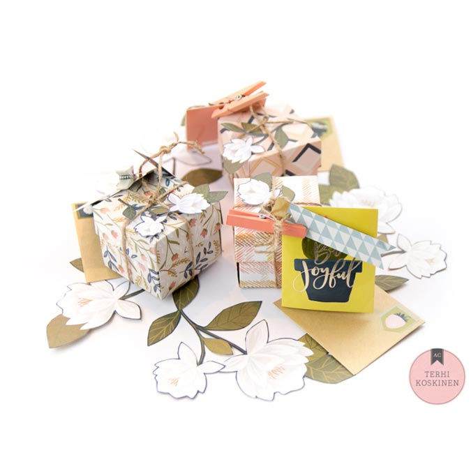 Goldenrod Washi Tape Listes - 3 rouleaux
