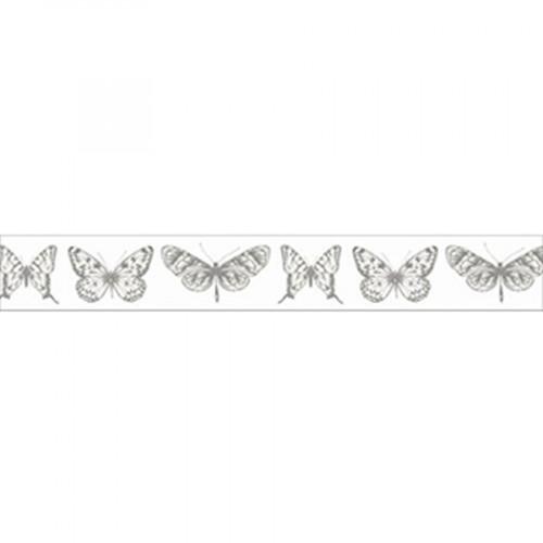 Ruban adhésif Papillons - 1,5 cm x 5 m
