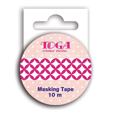 Destination Paris- Masking Tape - Fuchsia