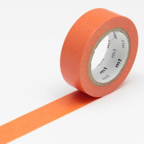 Masking Tape - Uni vermillon - 1,5 cm x 10 m