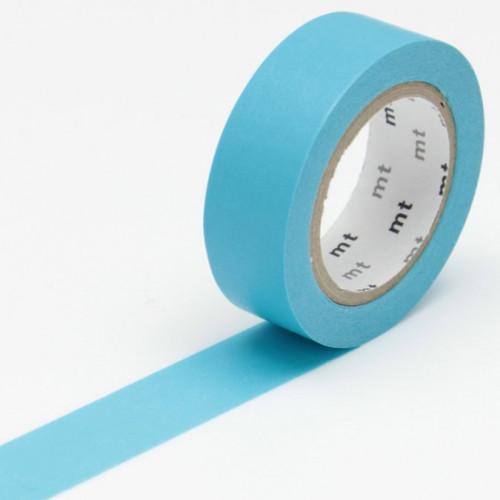 Masking Tape - Uni bleu - 1,5 cm x 10 m