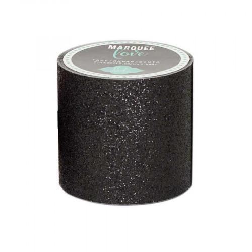Masking Tape- 5 cm x 2,7 m - Paillettes - noir
