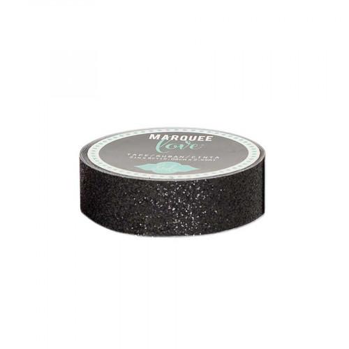 Masking Tape- 2,2 cm x 2,7 m - Paillettes - noir