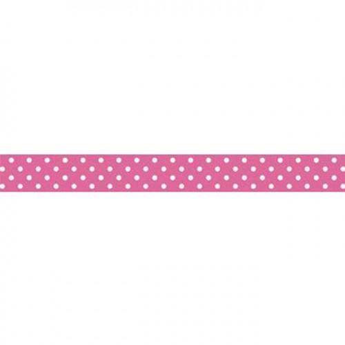 Washi Tape Swiss Dot - Bubblegum - 1,5 cm x 11 m
