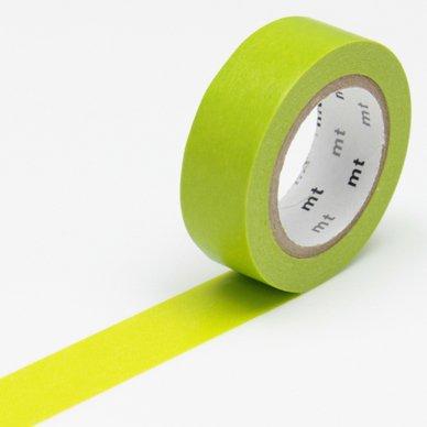 Masking Tape - Uni vert pré - 1,5 cm x 10 m