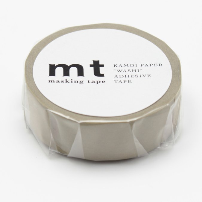 Masking Tape - Uni beige-vert - 1,5 cm x 10 m