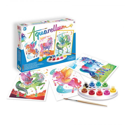 Aquarellum - Licornes & Pégases
