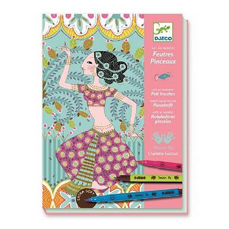 Feutres pinceaux - Art au numéro - L'Orient exquis