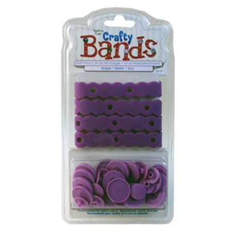 Crafty Bands - Kit de recharges - Violet